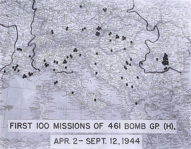 461 US Bomber Group 1944
