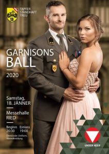 Garnisons Ball 2020 Panzer-Grenadier Bataillon 13 Ried im Innkreis Messehalle Ried