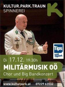 Militärmusik Konzert 17. Dezember 2019 Kultur Park Traun