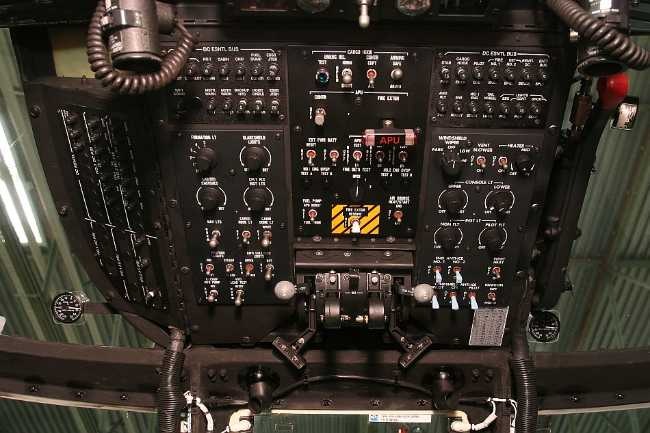 Ueberkopf Cockpit