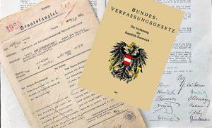Bundesverfassung Titelseite
