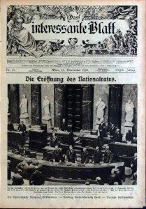 NR Verfassungsitzung 1920